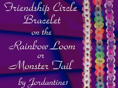 Rainbow Loom Bracelets Easy, Loom Band Bracelets, Rainbow Loom Tutorials, Rainbow Loom Patterns, Rainbow Loom Creations, Loom Love, Fun Loom, Rubber Band Crafts, Rubber Bands