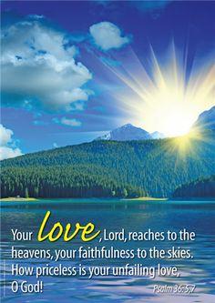 Psalm 36:5,7