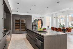 Kitchen by Ernestomeda from Mass Beverly. Appliances by Subzero-Wolf M Series Loft Kitchen, Kitchen Island, Living Spaces, Appliances, Wolf, Home Decor, Island Kitchen, Gadgets, Accessories