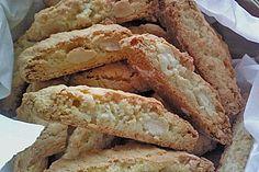 Cantucci, Siena, ein sehr schönes Rezept aus der Kategorie Kekse & Plätzchen. Bewertungen: 60. Durchschnitt: Ø 4,5.