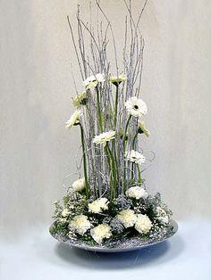 DESIGN 240 Altar Flowers, Church Flowers, Christmas Flowers, Flowers Garden, Small Flower Arrangements, Christmas Flower Arrangements, Corporate Flowers, Interior Exterior, Beautiful Flowers