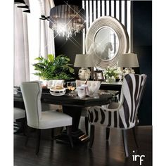 dining #60 by irafra on Polyvore featuring interior, interiors, interior design, home, home decor, interior decorating, Crate and Barrel, Erik Bagger, Marc Blackwell and Neiman Marcus