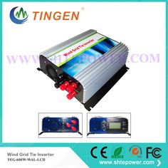 Micro inverter 600w on grid tie windmill turbine 3 phase ac input 10.8-30v to ac output pure sine wave
