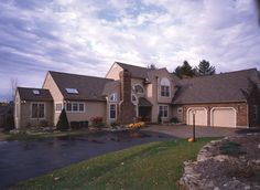 Vaulted ceilings abound in this three bedroom Luxury Home.  Luxury House Plan # 271031.