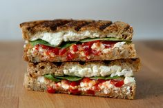 Spinach and Feta Grilled Cheese | 31 Grilled Cheeses That Are Better Than A Boyfriend