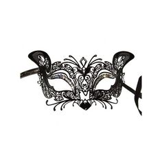 Venetian Style Mask ($88) ❤ liked on Polyvore