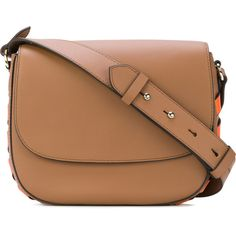 Tila March Naomi messenger bag (17,005 INR) ❤ liked on Polyvore featuring bags, messenger bags, brown, leather messenger bag, leather bags, courier bag, beige leather bag and genuine leather bag
