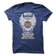 From Georgia And Live in UNITED STATES T-Shirts, Hoodies, Sweaters
