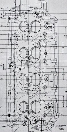 "cncenginedynamics: "" Blueprint 426 Hemi head """