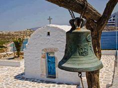 Chapel by the seaside in Greece.