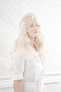 Albino series - Edito Weekend Knack © Lisa Carletta