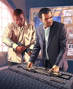 Another Example Of The Gta V Style Of Art Image Jeux Video Videogames Playstation