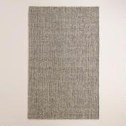 Light Gray Emilie Flatweave Sweater Wool Area Rug