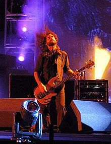 Justin Chancellor of Tool. Sees colours when he hears notes. Best brain disorder ever!