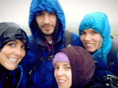 Scafell Pike. The most horrid 3am walk EVER. 4.32 mins from top to bottom. Not our best! Worst conditions, worst trail in the dark. #3PeaksChallenge