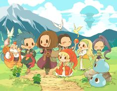 Dragon Quest X, Game Character, Character Design, Kirby Games, Dragon Warrior, Kid Icarus, Anime Artwork, Video Game Art, Manga Games