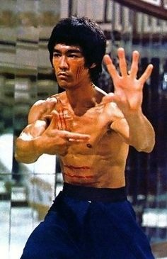 Bruce in Enter the Dragon