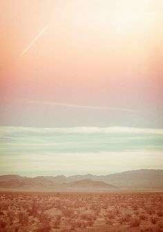 1481 - DESERT + PASTEL SKIES | LANDSCAPE PHOTOGRAPHY - ...etc
