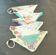Vintage Hankie Bunting. Are you out of your mind!!!!