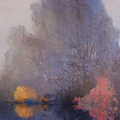 ~ Randall David Tipton -December Fog, oil on canvas