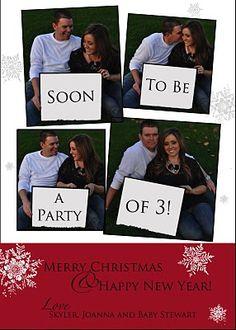 Christmas Card - Pregnancy Announcement