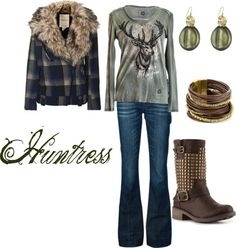 """""""Huntress"""" by westernglamour on Polyvore"""