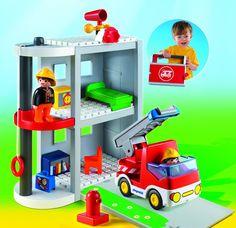Playmobil - 6777 - Jeu de Construction - Caserne de Pompiers: Amazon.fr: Jeux et Jouets