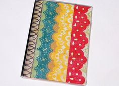 PASSPORT COVER  Bohemian Borders by TwoPolkaDots on Etsy