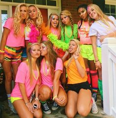 51 ideas party nigth neon for 2019 party Football Spirit, Football Themes, Football Outfits, Football Dress, Hs Football, High School Football, Neon Party Outfits, Themed Outfits, Glow Party Outfit