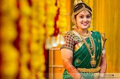 This traditional look on her,priceless ❤  Follow us for daily pinches of photo inspirations only at Photraits! PC: Studio Untitled #photoinspiration #photoideas #weddingphotography #weddinginspiration #weddingideas #wedding #instalike #instagram #love #l4l #bestoftheday #instafollow #likeforlike #tbt #instadaily #adorable #love #tweegram #smile #instagood #southindianwedding #photraits