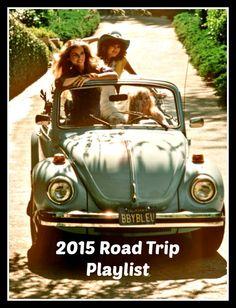 2015 Road Trip Playlist |Sunny Days & Starry Nights