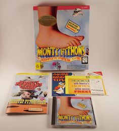 Vintage Monty Python's Complete Waste of Time PC Game w/ Big Box 1994 FREE SHIP!
