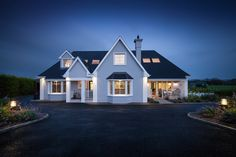 Housing - Collins, Brennan and Assosiates New England Style, Architects, Ireland, Cool Designs, Style Inspiration, Mansions, House Styles, Home Decor, Decoration Home