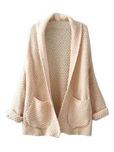 New at Lazaara the Beige Lapel Long Sleeve Knit Cardigan for only  30,35 €  you safe  40%.  Available Options:  SIZE: One Size  COLOR: Beige https://www.lazaara.com/en/jackets-coats/3417-beige-lapel-long-sleeve-knit-cardigan.html  #Lazaara #Amazing #Shopping #AmazingShopping #LazaaraAmazingShopping