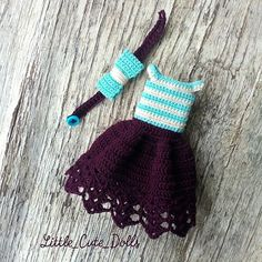 Outfit for new custom dolly! #crochetdoll #nwd #best_hm_world #handmadetoy #handmadedoll #villy_vanilly_shop #amigurumigram #amiguru #amigurumidoll #nwd_europe #вязатьмодно #promoteyourjwbiz #handmade_all_tut #weamiguru #portraitdoll #presentideas #giftideas #collectiondolls #куколкакрючком #newworlddesigners #куклаамигуруми #кукларучнойработы #кукласвомируками  #littlecutedolls #jwdesigners #jwhandmade #jwforever #bestlifeever #jwhappy #nwd_crochet Diy Crochet Toys, Crochet Dollies, Crochet Doll Dress, Crochet Projects, Amigurumi Doll, Amigurumi Patterns, Crochet Patterns, Knitting Dolls Clothes, Crochet Doll Clothes