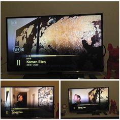 Geweldig TV debuut bij 'Komen Eten' met Stefan van de Mortel ! #komeneten #vier #art #gold #painting #rocknroll www.mygalleries.be