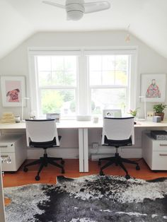 29th Avenue: A Fresh and Functional Home Office Makeover - THE BIG REVEAL! » Curbly | DIY Design Community