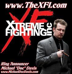 Fight Announcer -- Michael 'Doc' Davis -- http://www.michaeldocdavis.com