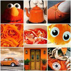 Just Orange #kleurinspiratie