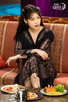 Photo album containing 157 pictures of IU Korean Celebrities, Celebs, Oppa Ya, New Korean Drama, Luna Fashion, Cute Lace Dresses, Donia, Soyeon, Korean Actresses