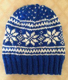 Ravelry: rockymtnknitter's Norwegian Star Hat