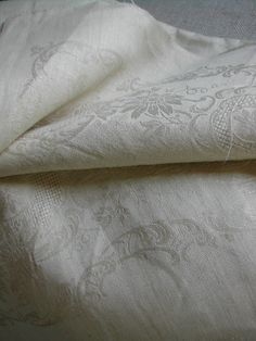 La Pouyette....: Old Linen - Part 1