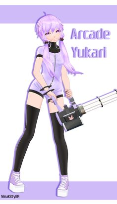 Arcade Yukari by NinaKittyBR