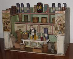 Grocery Shop approx 1900 by Hacker Pieternel Antique Toys