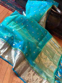 Discover thousands of images about pattu collection Chanderi Silk Saree, Indian Silk Sarees, Organza Saree, Pure Silk Sarees, Indian Beauty Saree, Cotton Saree, Chiffon Saree, Saree Blouse Neck Designs, Blouse Patterns