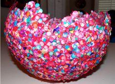 DIY Balloon Bowl Craft for Kids