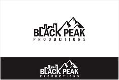 Clever, urban logo for a new, digital film company 'Black Peak Productions' Logo design #225 by eyang