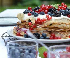 Delicieuse recette gâteau de crêpes idée délicieuse