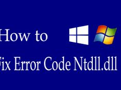 Ntdll.dll is an error that occurs in the loading of the Dynamic Link Library when the system is booting or launching certain programs. It appears due to an improper installation, deletion, or updating of an application in Windows, causing said error. Lets understand what it is and how to Fix Error Code Ntdll.dll #windowserrors #windows