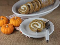 Gluten free pumpkin roll is a gluten free dessert that anyone can enjoy. And this is a gluten free dessert that will impress your guests.